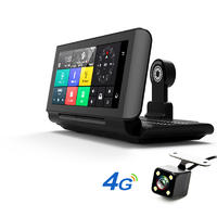 "Pro Car DVRs GPS 4G 6.86"" Android 5.1 Car Camera WIFI 1080P Video Recorder Registrar dash cam DVR Parking Monitoring"
